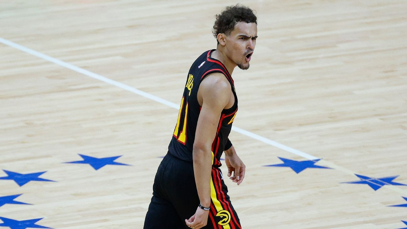 Atlanta Hawks shock the Philadelphia 76ers on their way to the second Eastern Conference final in 50 years